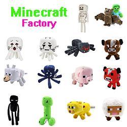 Мягкие игрушки Майнкрафт (Minecraft)