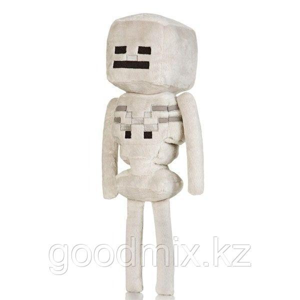Мягкая игрушка Скелет Майнкрафт (Skeleton Minecraft) 18 см
