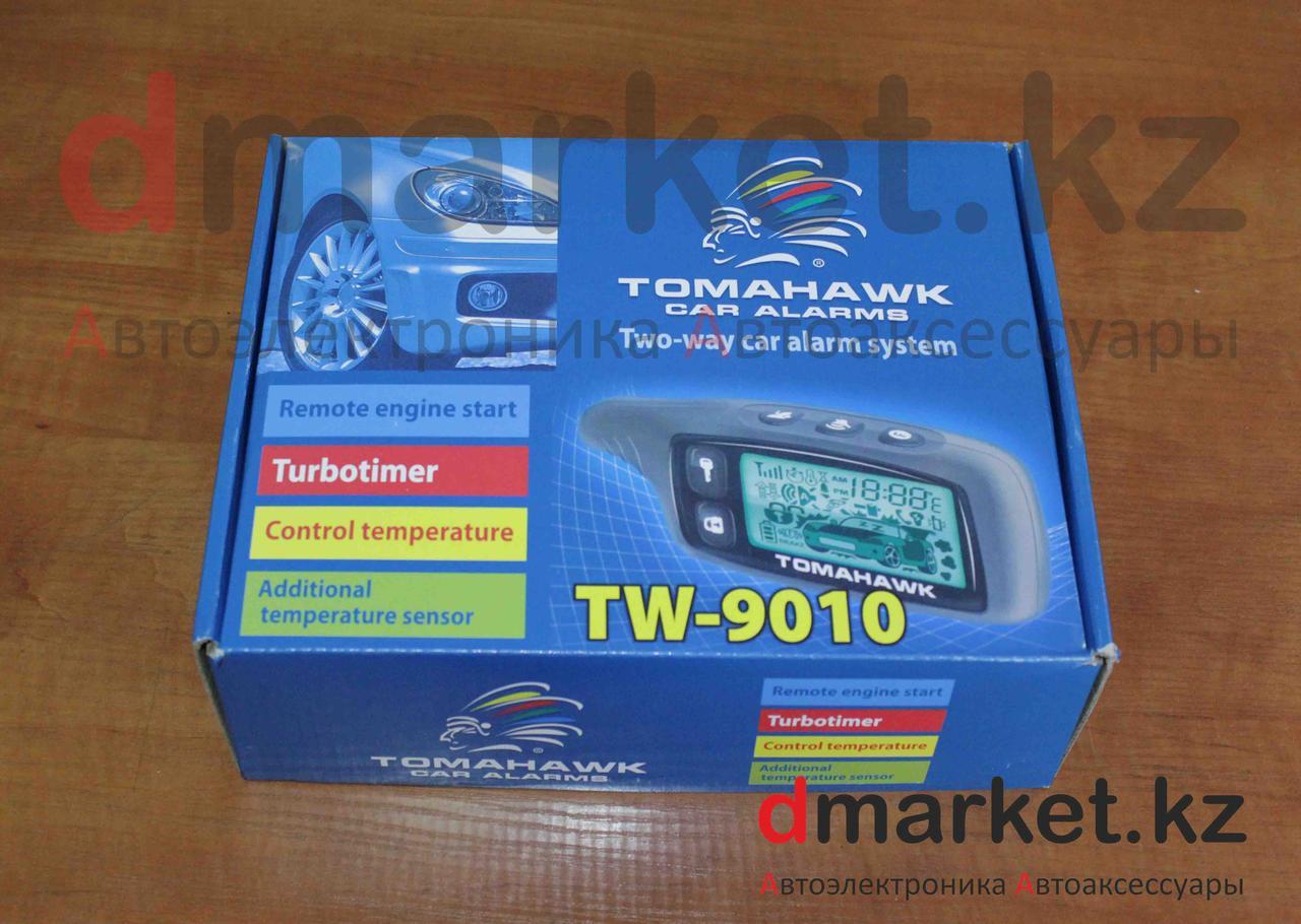 Автосигнализация Tomahawk TW-9010, автозавод, 2 пульта, турботаймер, гарантия