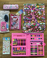 D17-002 Сумка-рюкзак + набор художника и 8 аксесс., фото 1