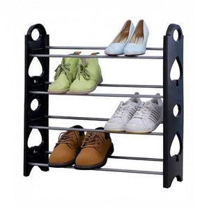 Этажерка для обуви модульная Stackable Shoe Rack (4 полки)