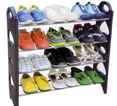 Этажерка для обуви модульная Stackable Shoe Rack (4 полки), фото 2