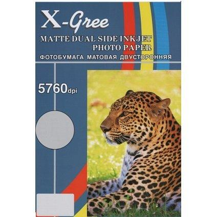 Фотобумага X-GREE A4/50/220г  Матовая Двухсторонняя MD220-A4-50(20)