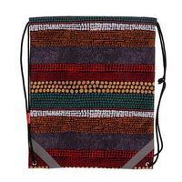 Мешок для обуви, 440 х 365 мм, Erich Krause, Mosaic Strips, со светоотражающими элементами