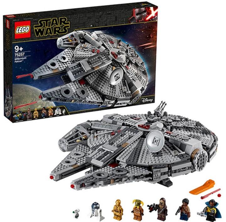 Конструктор ЛЕГО Звездные войны Сокол Тысячелетия LEGO Star Wars 75257