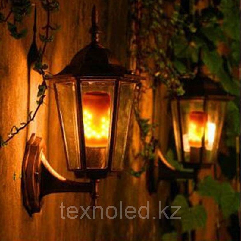Светодиодная лампа имитация огня  E27/5W*1500K