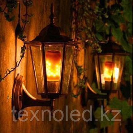 Светодиодная лампа имитация огня  E27/5W*1500K, фото 2