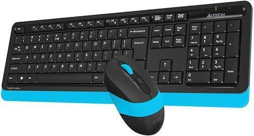 Клавиатура+мышь беспроводная A4tech FG-1010 Fstyler USB