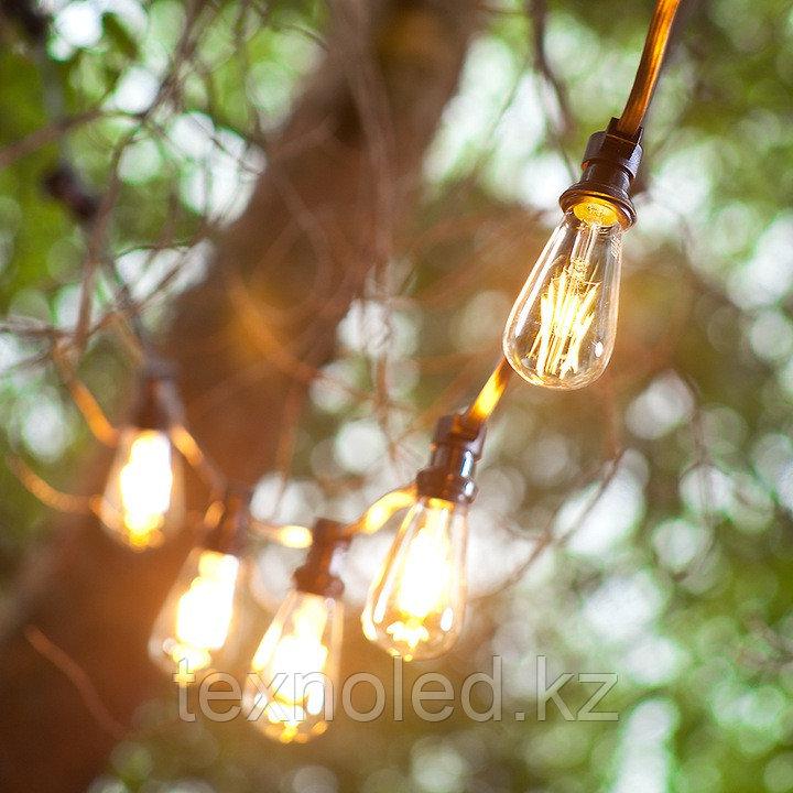 Светодиодная гирлянда из ламп