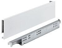 Выдвижной ящикMATRIX SLIM,белый, с доводчиком, 89X400MM, фото 1