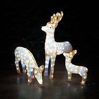 Новогодние светодиодные фигуры