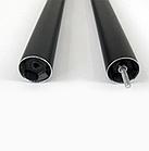 Регулируемая рамка для баннера/ткани, цвет - черный вертикальная, фото 6