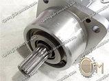 Гидронасос 210.12.04.05 аксиально-поршневой нерегулируемый, шлицевой вал левого вращения, фото 2
