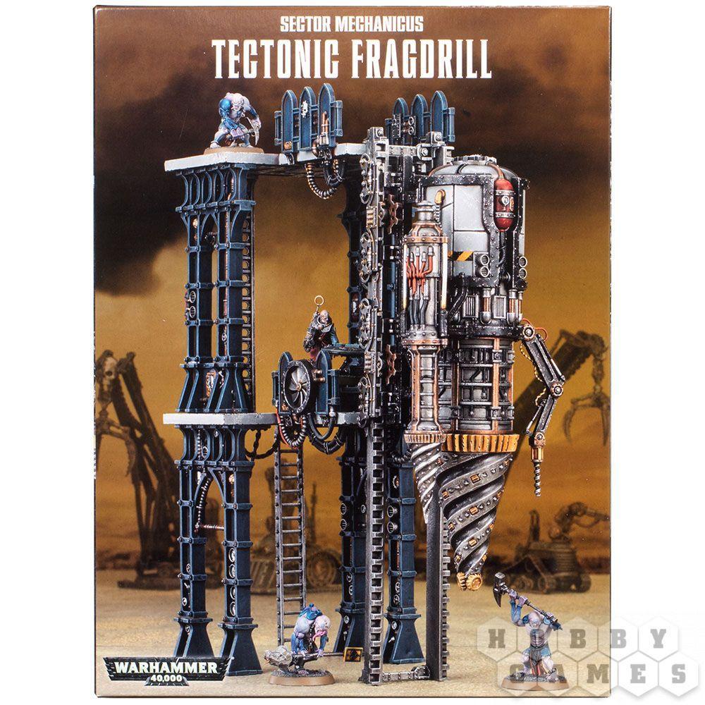 Набор Warhammer 40.000 Sector Mechanicus Tectonic Fragdrill
