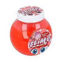 Слайм  Лизун  Slime  прозрачный + красный  500 гр.