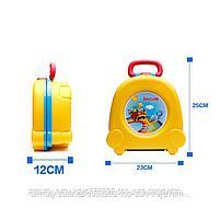 Портативный складной детский горшок-чемоданчик, фото 3
