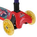 Самокат 3х-колесный складной Enchantimals Симбат, фото 5