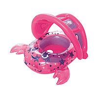 Надувная лодочка BESTWAY Crab 34109 (86х66см, Винил, 6-18 месяцев, С надувным съемным тентом)