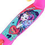 Самокат трехколесный Enchantimals Симбат розовый, фото 10