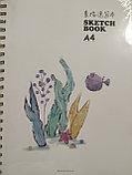 Скетчбук для зарисовок, А4, 50 листов, фото 2