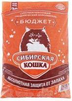 Наполнитель для кошачьих туалетов Сибирская кошка БЮДЖЕТ 7л, фото 3