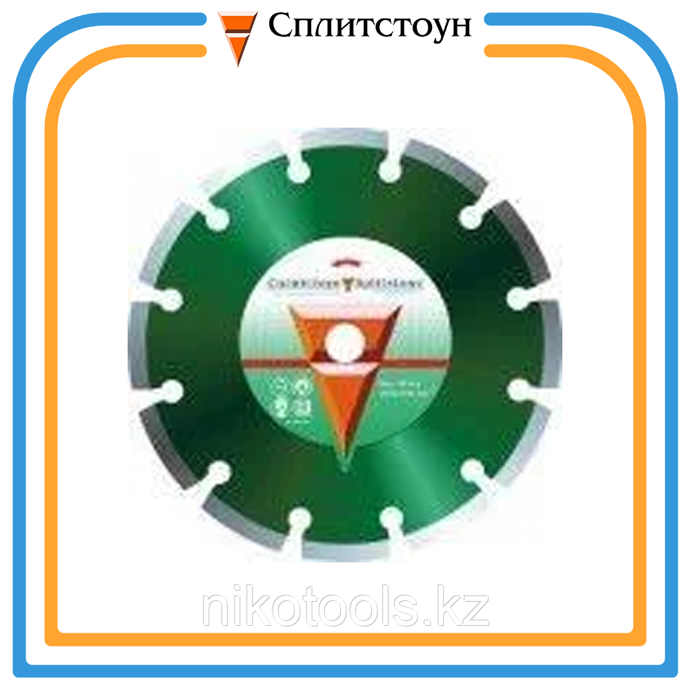 Отрезной алмазный круг сегментный по асфальту-400, серия Professional