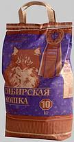 Наполнитель для кошачьих туалетов Сибирская кошка СУПЕР КОМКУЮЩИЙСЯ 20л, фото 3