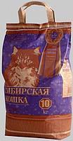 Наполнитель для кошачьих туалетов Сибирская кошка СУПЕР КОМКУЮЩИЙСЯ 10л