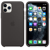 Apple iPhone 11 Pro Silicone Case Black аксессуары для смартфона (MWYN2ZM/A)