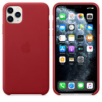 Apple iPhone 11 Pro Max Leather Case (PRODUCT)RED аксессуары для смартфона (MX0F2ZM/A)