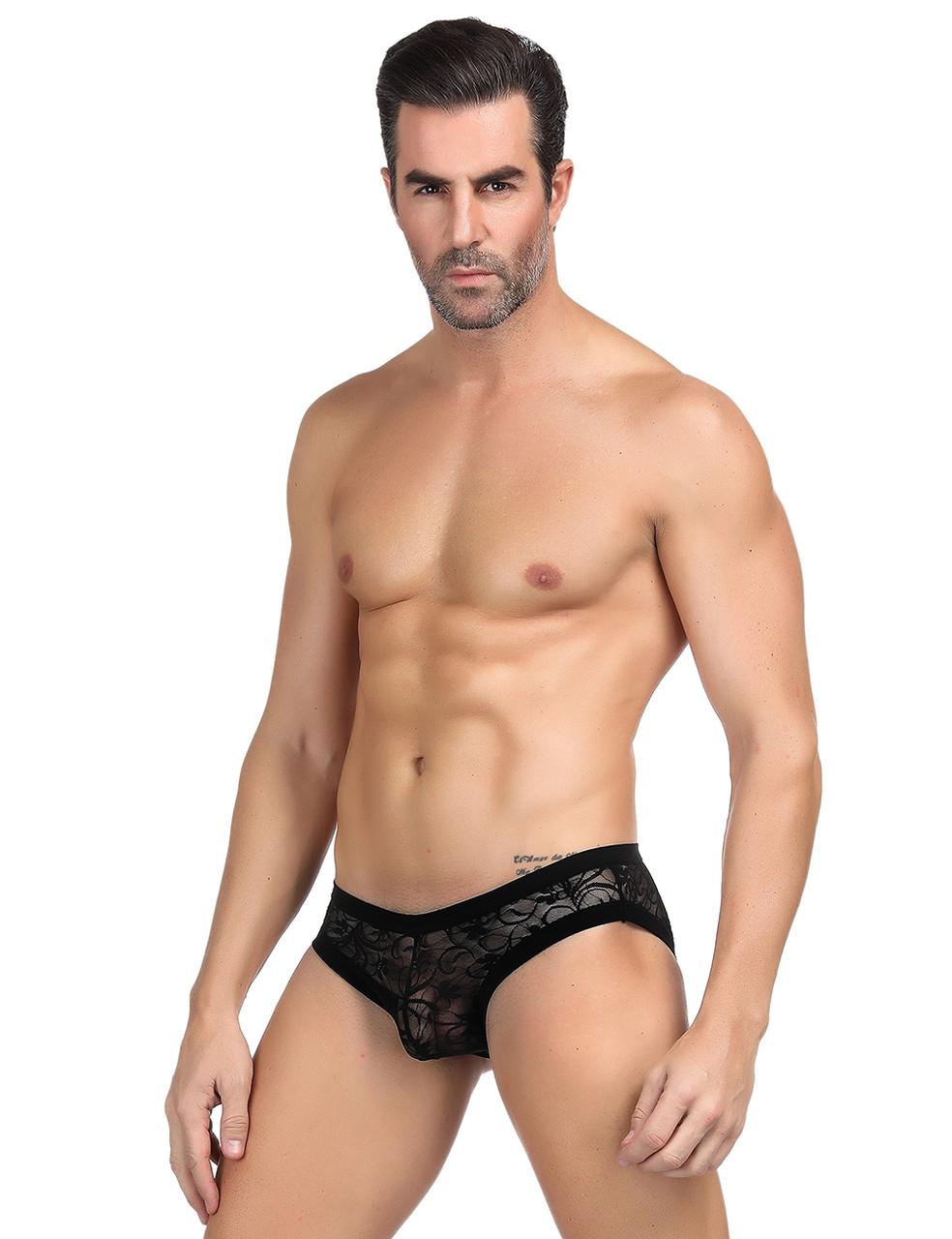 Мужские трусики Black Lace (S)