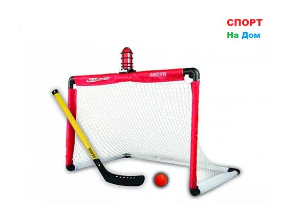 Детские хоккейные ворота с клюшкой и сиреной, фото 2