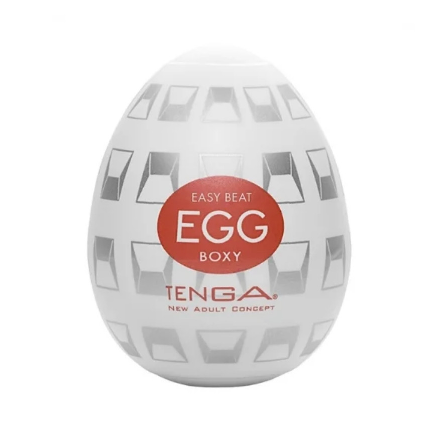"Мастурбатор ""Tenga egg - Boxy"", ОРИГИНАЛ"