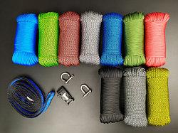 Паракорд и альпинистская верёвка
