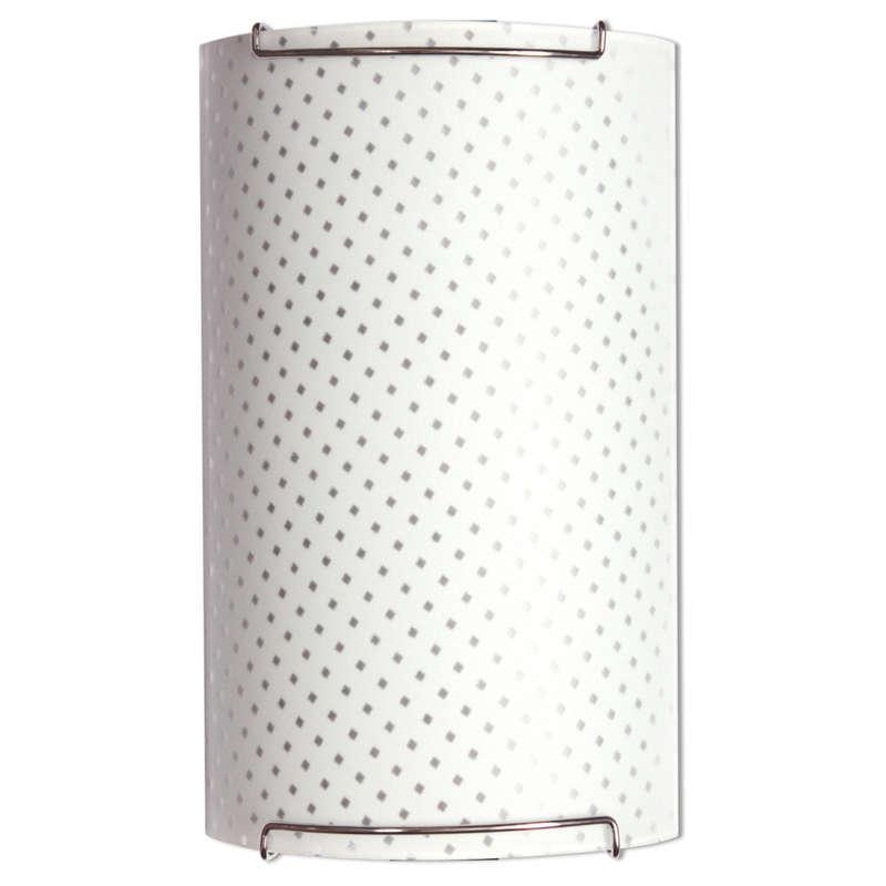 Светильник 150*360 Софи НББ 21-2*60 М31 матовый белый/крепеж хром ИУ 02996