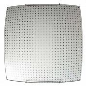 Светильник 300*300 Софи  НПБ 09-60-003 матовый белый/крепеж хром ИУ 03163
