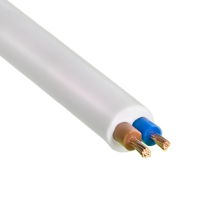Провод ПВС 2*2,5 мм белый
