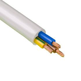 Провод ПВС 3*2,5 мм белый