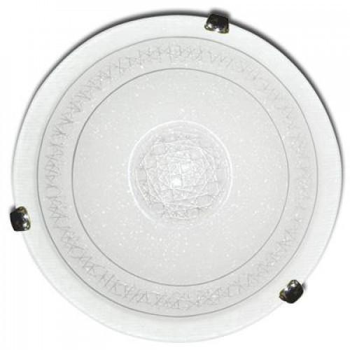 Светильник 400 Сюзи НПБ 01-2*60-135 М12  серебристый/кл.хром ИУ 04177