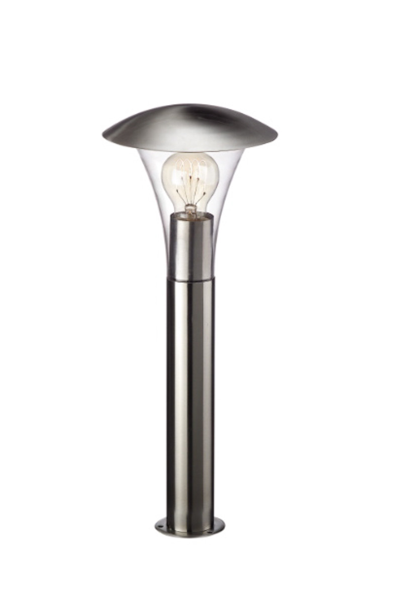 Светильник столбик BEAUMONT inox 1*60W Philips /161214710/
