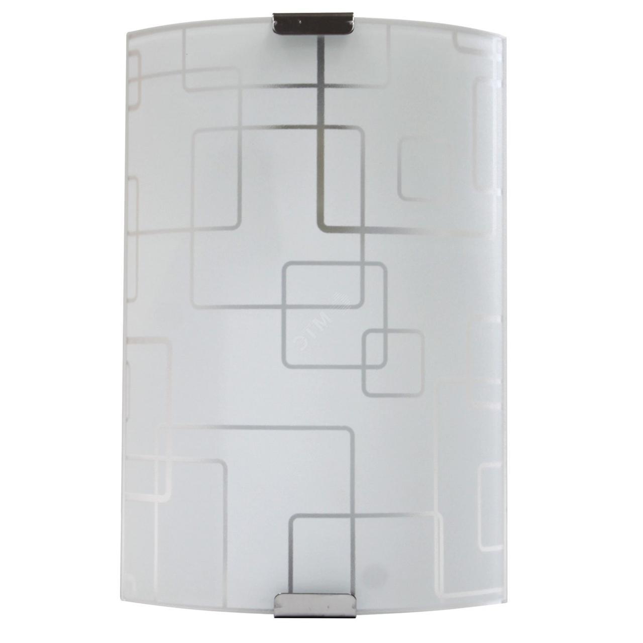 Светильник 150*220 Оазис НББ 21-60 М21 матовый белый/кл.штамп металлик ИУ