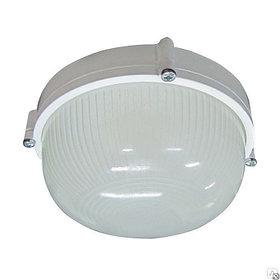 Светильник 1301 Банник НПП 03-60-013 IP65 круг мал. матовый/корпус белый ГИ