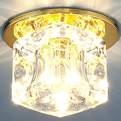 ТОЧЕЧНЫЙ СВЕТ - 499 G9 GD/CL золото/прозрачный