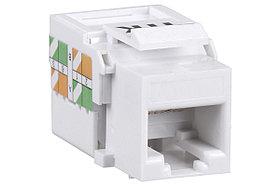 ITK Модуль Keystone Jack кат.5E, UTP, IDC Dual, горизонтальная заделка