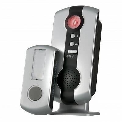 Дверной звонок DBQ07М WL 36M IP44 серебряный