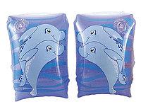 Нарукавники для плавания малые разные герои надувные, фото 1