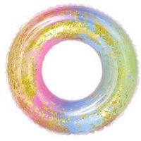 Радужный круг надувной для плавания 60см, фото 1