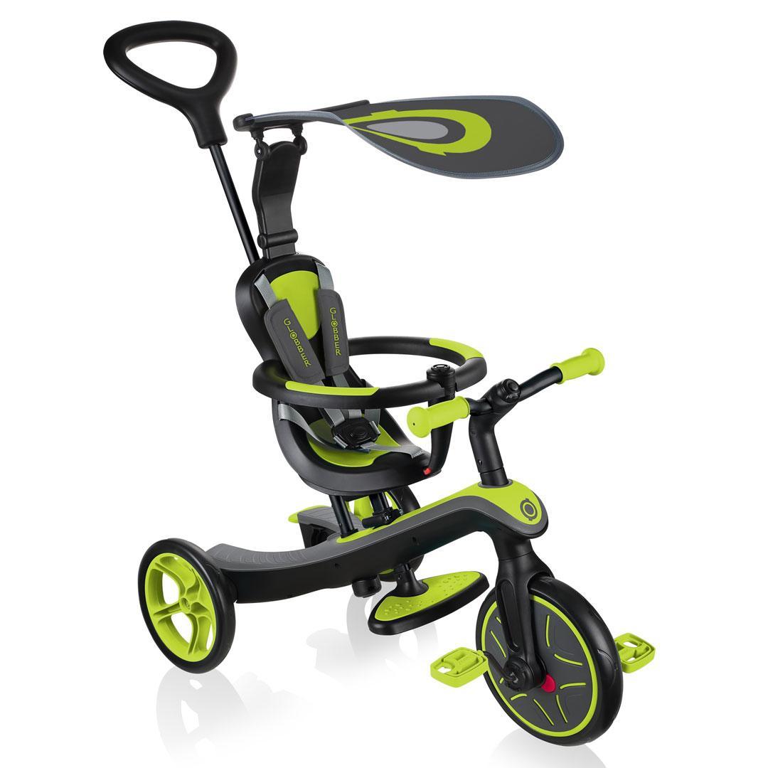 Globber  коляска трансформер Trike Explorer 4 in 1