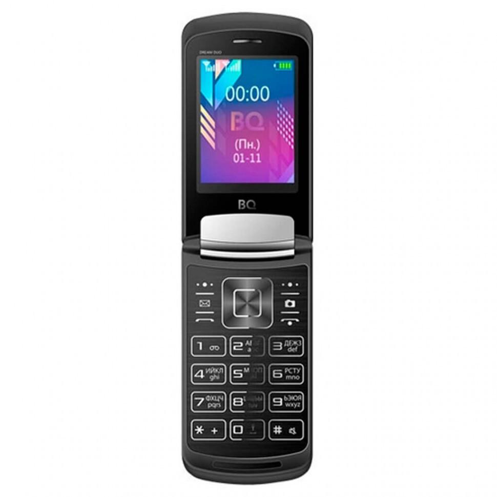 Мобильный телефон BQ-2433 Dream DUO Темно-Серый