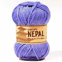 Пряжа DROPS Пряжа DROPS Nepal Цвет.6220 Гиацинт